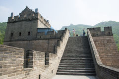 Asia China, Beijing, historic buildings, the Great Wall Juyongguan,. Juyongguan Great Wall, along the Great Wall north of Beijing's famous ancient city relations royalty free stock images