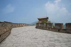 Asia China, Beijing, historic buildings, the Great Wall Juyongguan, watchtower Stock Photo
