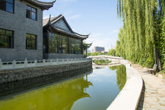 Asia China, Beijing, Hongfu Park, antique building group Stock Images