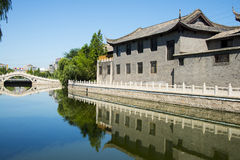 Asia China, Beijing, Hongfu Park, antique building group Royalty Free Stock Images
