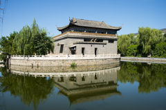 Asia China, Beijing, Hongfu Park, antique building group Stock Photo
