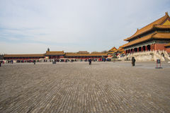 Asia China, Beijing, the Imperial Palace, the history of the building, Pavilions, terraces and open halls Stock Photo