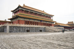 Asia China, Beijing, the Imperial Palace, the history of the building, Pavilions, terraces and open halls Royalty Free Stock Images