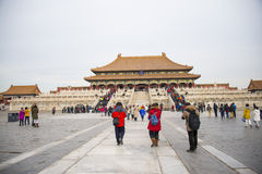 Asia China, Beijing, the Imperial Palace, the history of the building, Royal Palace Royalty Free Stock Photo