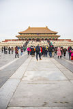 Asia China, Beijing, the Imperial Palace, the history of the building, Royal Palace Stock Images