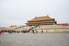 Asia China, Beijing, the Imperial Palace, the history of the building, Royal Palace, Stock Photography