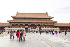 Asia China, Beijing, the Imperial Palace, the history of the building, Royal Palace, Royalty Free Stock Image