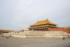Asia China, Beijing, the Imperial Palace, the history of the building, Royal Palace, Royalty Free Stock Photography