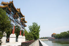 Asia China, Beijing, the Imperial Palace, North Gate Royalty Free Stock Photography