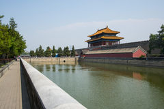 Asia China, Beijing, the Imperial Palace, North Gate Stock Photography