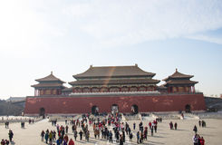 Asia China, Beijing, the Imperial Palace, the Royal Palace Royalty Free Stock Photos