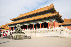 Asia China, Beijing, the Imperial Palace, the Royal Palace Stock Photos