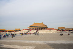 Asia China, Beijing, the Imperial Palace, the Royal Palace Stock Photo