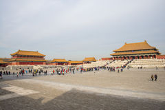 Asia China, Beijing, the Imperial Palace, the Royal Palace Royalty Free Stock Photography