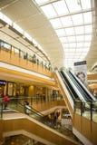 Asia China, Beijing, indigo shopping plaza, indoor building structure. Asia China, Beijing, indigo shopping plaza, a large integrated commercial, shopping Royalty Free Stock Photography