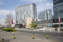 Asia China, Beijing, InterContinental Beijing Beichen Hotel Stock Photo