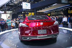 Asia China, Beijing, 2016 international automobile exhibition, Indoor exhibition hall,Buick Avista concept car Royalty Free Stock Photography