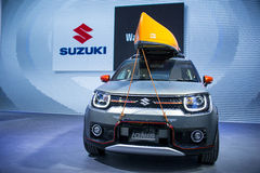 Asia China, Beijing, 2016 international automobile exhibition, indoor exhibition hall, SUZUKI, IGNIS concept car Stock Images