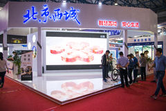 Asia, 2016 China Beijing international science and Technology Industry Expo Royalty Free Stock Photo