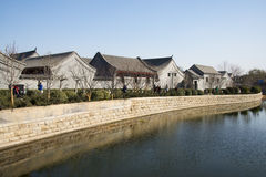 Asia China, Beijing, jade river ruins park,early spring landscape Royalty Free Stock Image