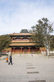 Asia China, Beijing, jingshan park, royal gardens Stock Photography