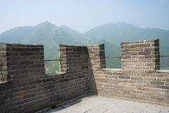 Asia China, Beijing, Juyongguan the Great Wall, wall Qiangduo Royalty Free Stock Photography