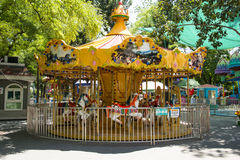 Asia China, Beijing, Longtan Lake Park, Children's amusement park,carousel, Royalty Free Stock Image