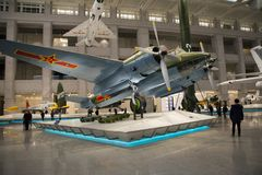 Asia China, Beijing, military museum, indoor exhibition hall, Stock Photo