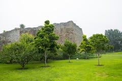 Asia China, Beijing, Ming City Wall Ruins Park Royalty Free Stock Photos