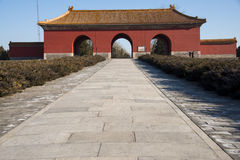 Asia China, Beijing, Ming Dynasty Tombs, Great Palace Gate Royalty Free Stock Photos