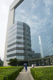 Asia China, Beijing, modern architecture, new Poly Plaza The Stock Photos