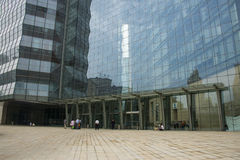 Asia China, Beijing, modern architecture, new Poly Plaza The Royalty Free Stock Image