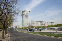 Asia China, Beijing, modern buildings, Pangu Plaza Stock Images