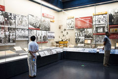 Asia China, Beijing,Museum of the War of Peoples Resistance Against Japanese Aggression,Indoor exhibition Stock Images