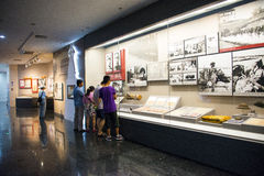 Asia China, Beijing,Museum of the War of Peoples Resistance Against Japanese Aggression,Indoor exhibition Royalty Free Stock Image