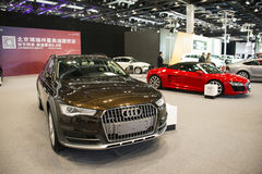 Asia China, Beijing, National Convention Center, import Auto Expo Stock Photo