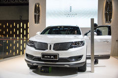 Asia China, Beijing, National Convention Center, import Auto Expo Royalty Free Stock Photos