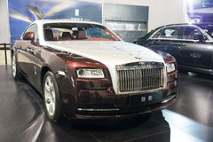 Asia China, Beijing, National Convention Center, import Auto Expo Royalty Free Stock Photography
