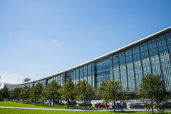 Asia China, Beijing, National Convention center, Royalty Free Stock Photos