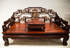 Asia China, Beijing, national museum, arhat bed Royalty Free Stock Image