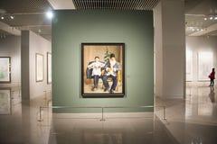 Asia China, Beijing, National Museum,Indoor exhibition hall Stock Photos