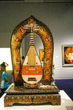 Asia China, Beijing, national museum, indoor exhibition hall,Pipa,Musical Instruments Stock Photo