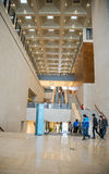 Asia China, Beijing, National Museum, interior structure Royalty Free Stock Image
