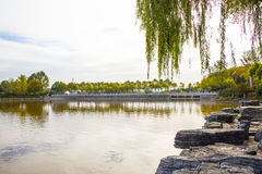 Asia China, Beijing, north palace, the national forest park, the autumn scenery Stock Photos