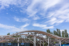 Asia China, Beijing, Olympic Forest Park, Gallery Stock Photography