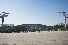 In Asia, China, Beijing, Olympic Park, the spider, the French mechanical parade Royalty Free Stock Photography