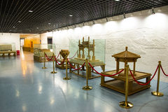 Asia China, Beijing, planning exhibition hall, indoor exhibition hall Stock Image