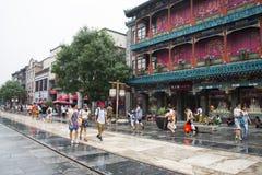 Asia China, Beijing, Qianmen Commercial Street Stock Image