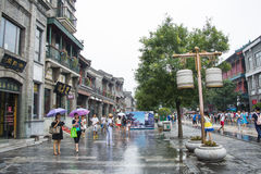 Asia China, Beijing, Qianmen Commercial Street Stock Photography