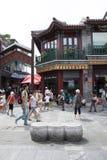 Asia, China, Beijing, Qianmen Street, commercial street, walk street Stock Photography